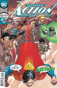 Cover Thumbnail for Action Comics (DC, 2011 series) #1021 [John Romita Jr. & Klaus Janson Cover]