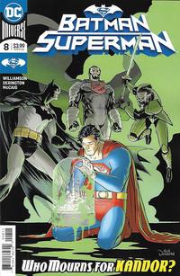 Cover Thumbnail for Batman / Superman (DC, 2019 series) #8 [Nick Derington Cover]
