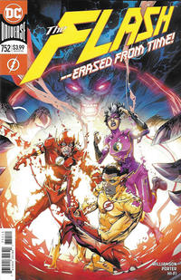 Cover Thumbnail for The Flash (DC, 2016 series) #752 [Howard Porter Cover]