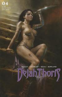 Cover Thumbnail for Dejah Thoris (Dynamite Entertainment, 2019 series) #4 [Cover A Lucio Parrillo]