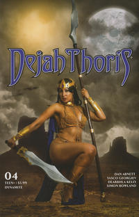 Cover Thumbnail for Dejah Thoris (Dynamite Entertainment, 2019 series) #4 [Cover E Cosplay]