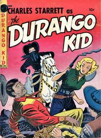 Cover Thumbnail for Durango Kid (Compix, 1952 series) #20