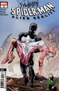 Cover Thumbnail for Symbiote Spider-Man: Alien Reality (Marvel, 2020 series) #2 [Second Printing]