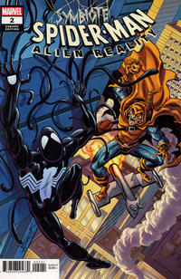 Cover Thumbnail for Symbiote Spider-Man: Alien Reality (Marvel, 2020 series) #2 [Variant Edition - Alex Saviuk Cover]