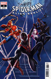 Cover Thumbnail for Symbiote Spider-Man: Alien Reality (Marvel, 2020 series) #3 [Variant Edition - Chinese New Year - Jie Yuan Connecting Cover]