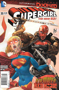 Cover Thumbnail for Supergirl (DC, 2011 series) #35 [Newsstand]