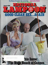 Cover Thumbnail for National Lampoon Magazine (21st Century / Heavy Metal / National Lampoon, 1970 series) #1/1986