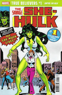 Cover Thumbnail for True Believers: Empyre - She-Hulk (Marvel, 2020 series) #1