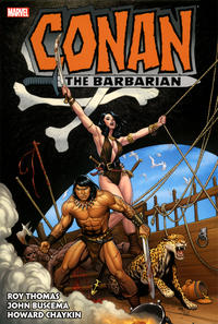 Cover Thumbnail for Conan the Barbarian: The Original Marvel Years Omnibus (Marvel, 2019 series) #3 [Frank Cho]
