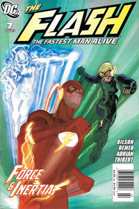 Cover Thumbnail for Flash: The Fastest Man Alive (DC, 2006 series) #7 [Newsstand]