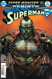 Cover Thumbnail for Superman (DC, 2016 series) #12 [Newsstand]