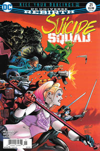 Cover Thumbnail for Suicide Squad (DC, 2016 series) #21 [Newsstand]
