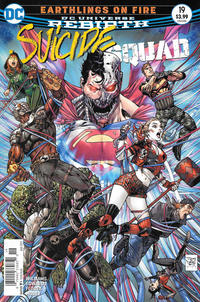 Cover Thumbnail for Suicide Squad (DC, 2016 series) #19 [Newsstand]