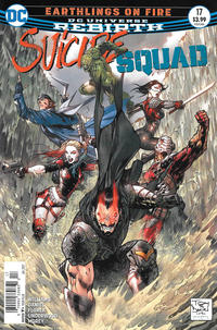 Cover Thumbnail for Suicide Squad (DC, 2016 series) #17 [Newsstand]