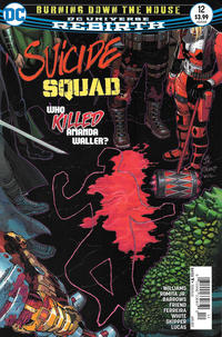 Cover Thumbnail for Suicide Squad (DC, 2016 series) #12 [Newsstand]