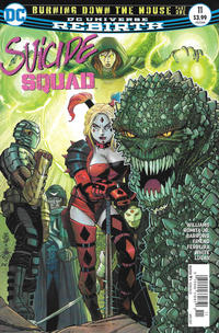 Cover Thumbnail for Suicide Squad (DC, 2016 series) #11 [Newsstand]