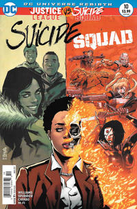 Cover Thumbnail for Suicide Squad (DC, 2016 series) #10 [Newsstand]