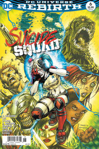 Cover Thumbnail for Suicide Squad (DC, 2016 series) #6 [Newsstand]