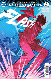 Cover Thumbnail for The Flash (DC, 2016 series) #2 [Newsstand]