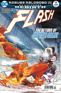 Cover Thumbnail for The Flash (DC, 2016 series) #14 [Newsstand]
