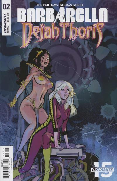 Cover for Barbarella/Dejah Thoris (Dynamite Entertainment, 2019 series) #2