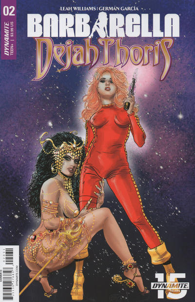Cover for Barbarella/Dejah Thoris (Dynamite Entertainment, 2019 series) #2 [Cover E Cosplay]