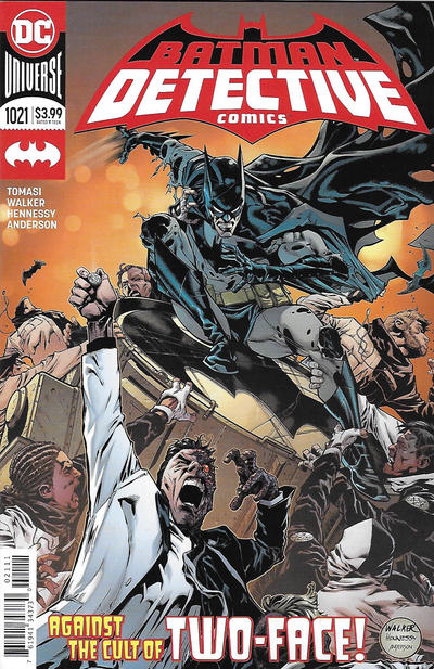 Cover for Detective Comics (DC, 2011 series) #1021