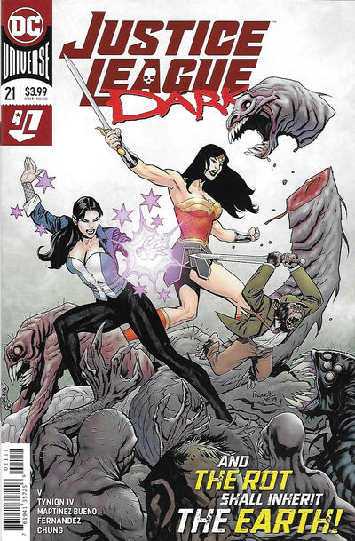 Cover for Justice League Dark (DC, 2018 series) #21 [Yanick Paquette Cover]