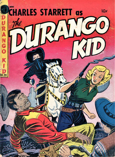 Cover for Durango Kid (Compix, 1952 series) #20
