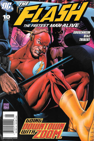 Cover for Flash: The Fastest Man Alive (DC, 2006 series) #10 [Newsstand]