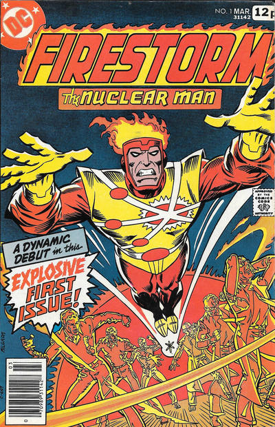 Cover for Firestorm (DC, 1978 series) #1 [British]
