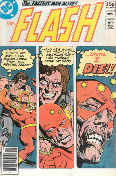 Cover for The Flash (DC, 1959 series) #279 [British]