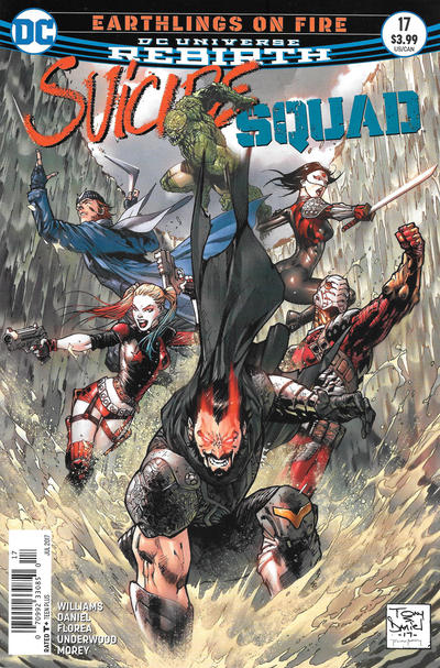 Cover for Suicide Squad (DC, 2016 series) #17 [Newsstand]