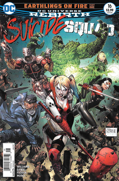 Cover for Suicide Squad (DC, 2016 series) #16 [Newsstand]