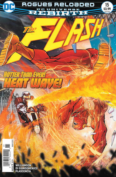 Cover for The Flash (DC, 2016 series) #15 [Newsstand]