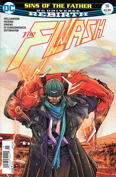 Cover for The Flash (DC, 2016 series) #19 [Newsstand]