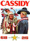 Cover for Cassidy (Impéria, 1957 series) #134
