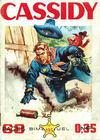 Cover for Cassidy (Impéria, 1957 series) #195