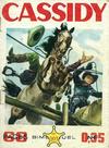 Cover for Cassidy (Impéria, 1957 series) #203