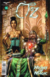 Cover for Oz: Heart of Magic (Zenescope Entertainment, 2019 series) #5 [Cover D - Geebo Vigonte]