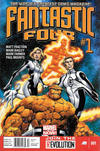 Cover for Fantastic Four (Marvel, 2013 series) #1 [Newsstand]