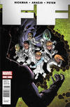 Cover for FF (Marvel, 2011 series) #22 [Newsstand]