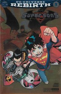 Cover Thumbnail for Super Sons (DC, 2017 series) #1 [Convention Exclusive Jorge Jimenez Foil Cover]
