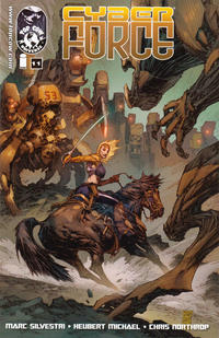 Cover Thumbnail for Cyber Force (Image, 2012 series) #11 [Cover A - Marc Silvestri / Sunny Gho]