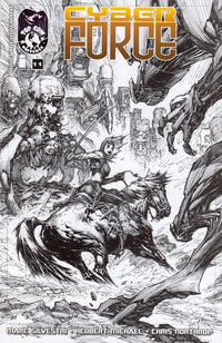 Cover Thumbnail for Cyber Force (Image, 2012 series) #11 [Cover B - Marc Silvestri, Retailer Incentive]