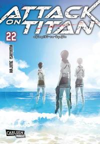 Cover Thumbnail for Attack on Titan (Carlsen Comics [DE], 2014 series) #22