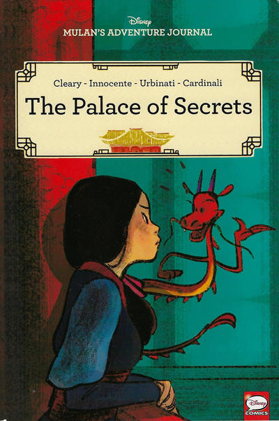 Cover for Disney Mulan's Adventure Journal: The Palace of Secrets (Dark Horse, 2020 series)