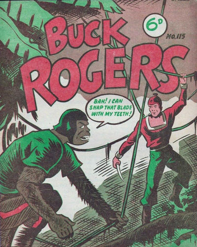 Cover for Buck Rogers (Fitchett Bros., 1950 ? series) #115