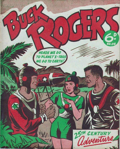Cover for Buck Rogers (Fitchett Bros., 1950 ? series) #114