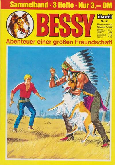 Cover for Bessy Sammelband (Bastei Verlag, 1966 ? series) #81